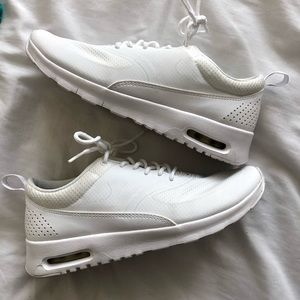 Nike Air Max all white sneakers NEW